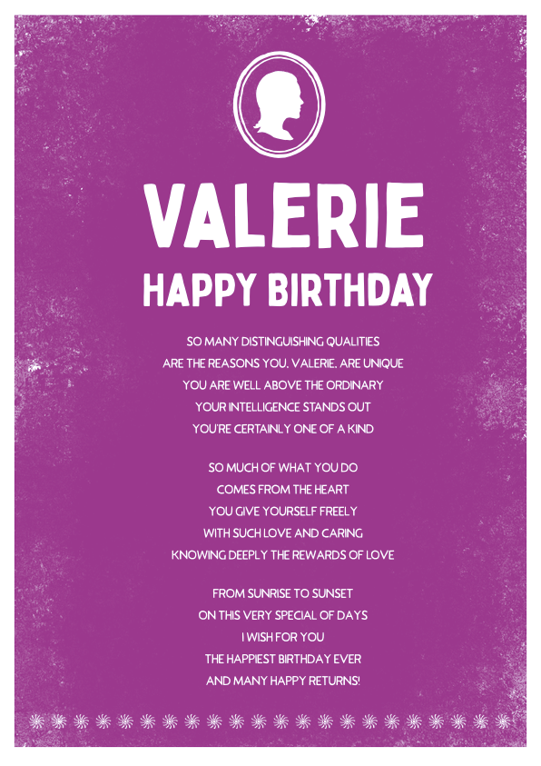 Serious and Sentimental Birthday Poetry Card 9